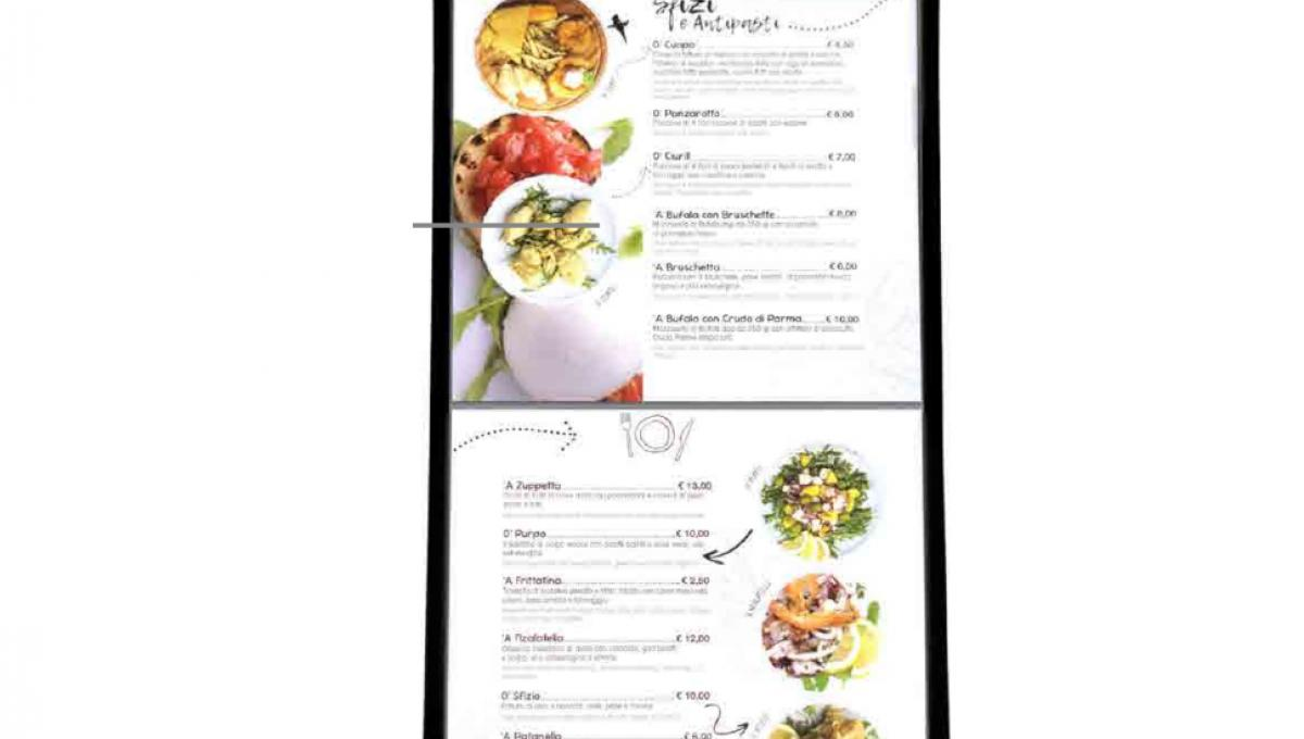 TOUCH SCREEN MENU'